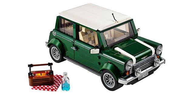 レゴで作られた可愛くてリアルなミニクーパーが発売