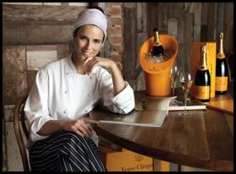 During Tuesday, Brazilian chef Helena Rizzo, of the Mani restaurant in Sao Paulo known to be declared Veuve Clicquot's World's Best Female C...