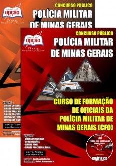 Apostila Concurso Polícia Militar do Estado de Minas Gerais - PM/MG - 2014: - Cargo: Curso de Formação de Oficiais