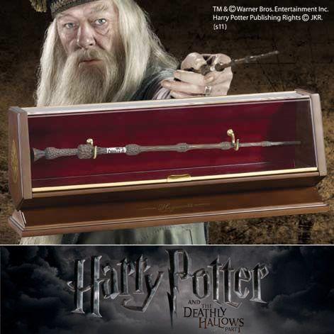 Harry Potter - Bacchetta Magica di Albus Silente in bronzo http://www.coltelleriacollini.it/harry-potter-bacchetta-magica-di-albus-silente-in-bronzo/