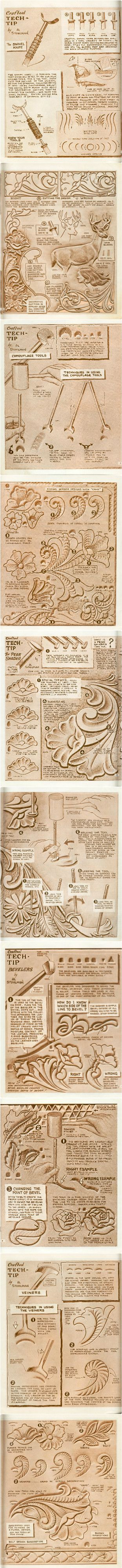 Craftool Tech Tips by Al Stohlman #craftntools #leathertools #leatherwork #leathercraft #leatherart #leather