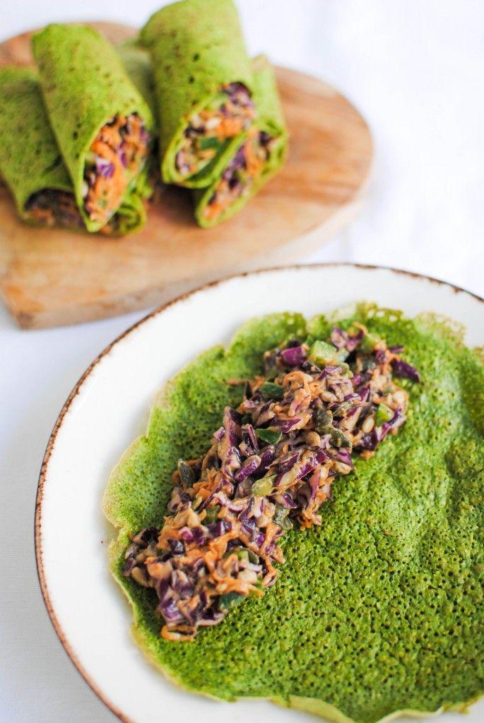 wraps verdes low kcal | low kcal green wraps