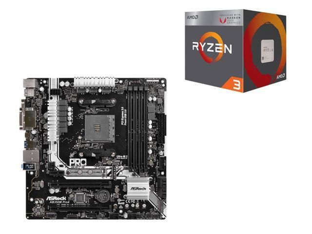 AMD RYZEN 3 2200G Quad-Core Processor and ASRock AB350M Pro4 AM4 Motherboard $150@Newegg https://www.lavahotdeals.com/us/cheap/amd-ryzen-3-2200g-quad-core-processor-asrock/318447?utm_source=pinterest&utm_medium=rss&utm_campaign=at_lavahotdealsus&utm_term=hottest_12