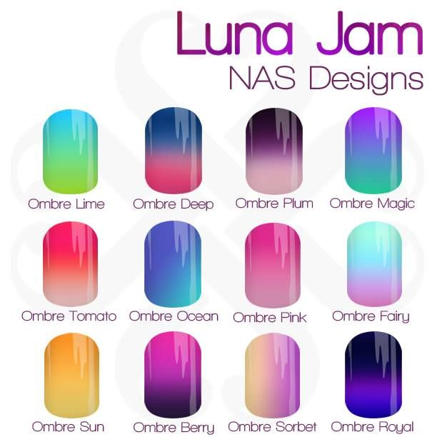Click on this image to go to Luna Jam NAS Design Marketplace!! I am a Jamberry Consultant and have created hundreds of custom Nail Art Studio designs. Join my Facebook group www.facebook.com/groups/lunajamnas to see new designs each week! Contact me via this Facebook group with any questions/requests!!— lunajamnas nail art polish lacquer gel nerd geek fashion anime japan diy manicure pedicure   ombre colourful