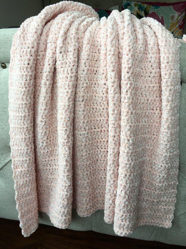 Bernat Velvet Blanket Crochet Crochet Throw Pattern Velvet Blanket Baby Blanket Crochet Pattern