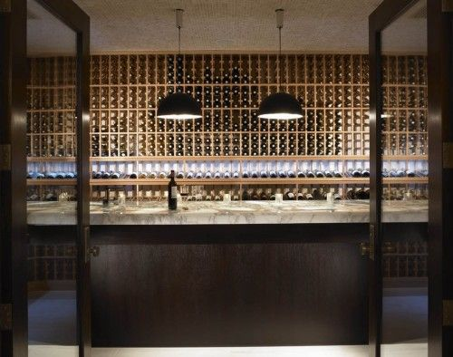 Thou shalt not covet thy neighbor's wine cellar...or something like that.