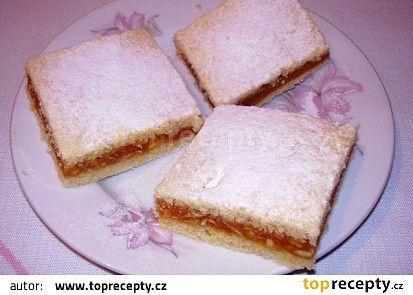 Koláč s jablečnou nádivkou recept - TopRecepty.cz