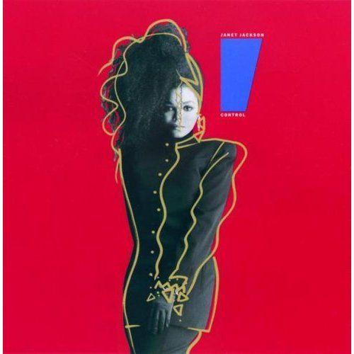 Janet's Album Cover - Control