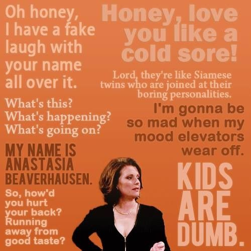 Karen Walker favorite quotes...