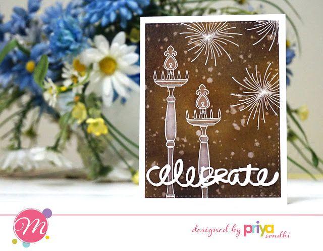 Mudra Craft Stamps: Festive Diwali Cards