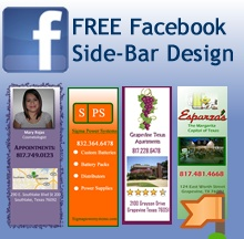 Claim your free side-bar design by iSocialDesign!