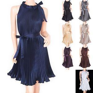 Gorgeous Elegant Satin Pleated Belt Maternity Party Evening Dress   eBay