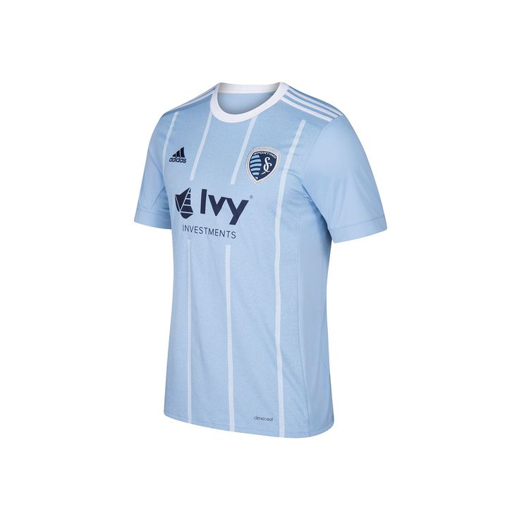 Men's Adidas Sporting Kansas City Wordmark MLS Jersey, Size: Medium, Grey