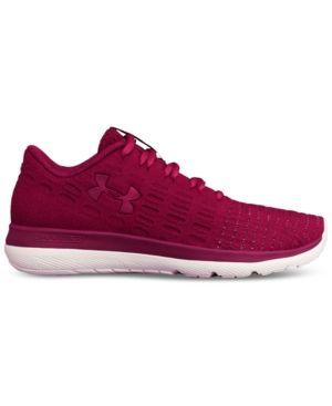 Under Armour Women's Threadborne Speedform Slingshot Running Sneakers from Finish Line - Tan/Beige 7.5