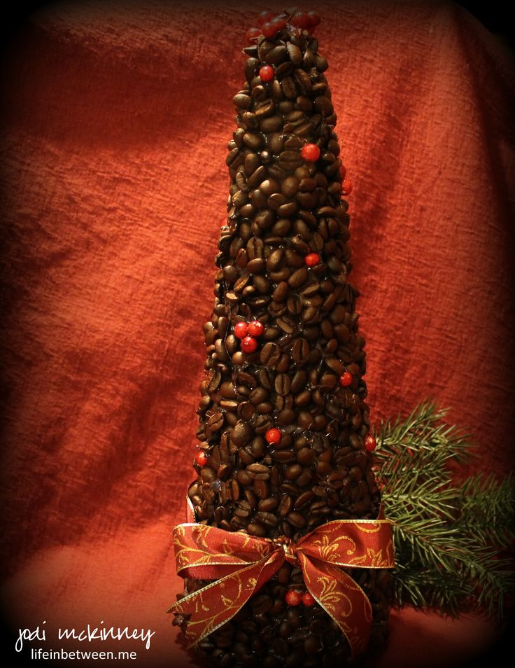 coffee bean christmas tree