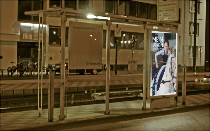 "campaign ""mein verein"" // city-light // designed for the german landessportbund nordrhein westfalen"