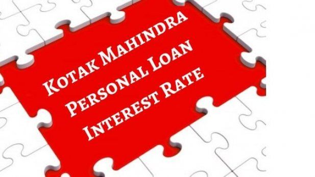 Avail Loan With Affordable Kotak Mahindra Personal Loan Interest Rate Personal Loans Loan Interest Rates Interest Rates
