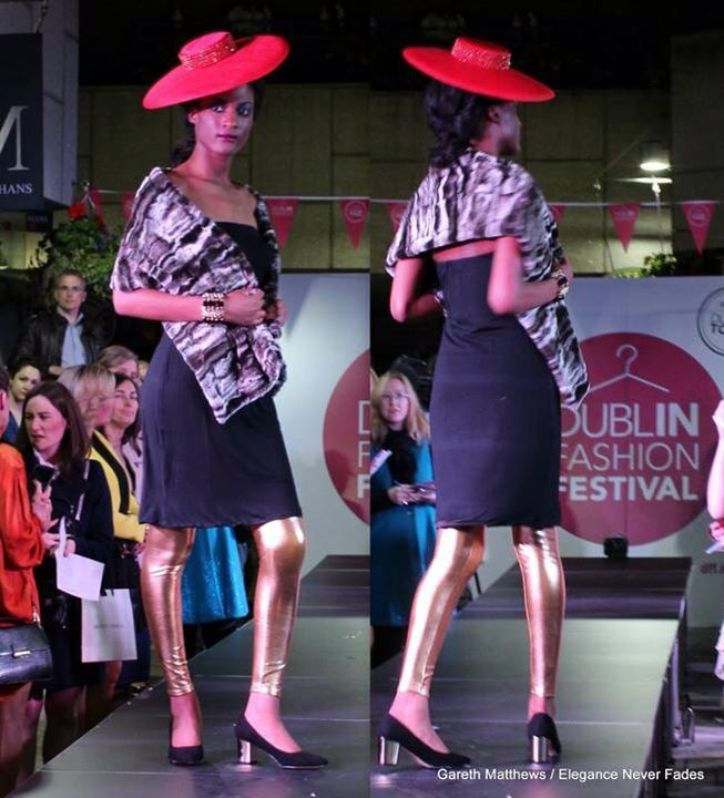 Accessories section from Dff fashion show styled by the design house