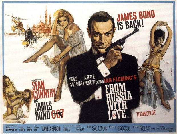 EVERY JAMES BOND MOVIE POSTER, RANKED >> From last to first.