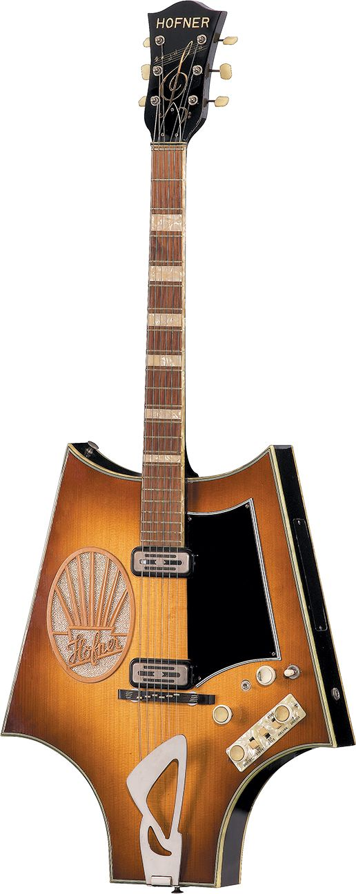 Höfner's Fledermausgittare | Vintage Guitar® magazine