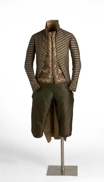 Suit ca 1800 Fripperies and Fobs