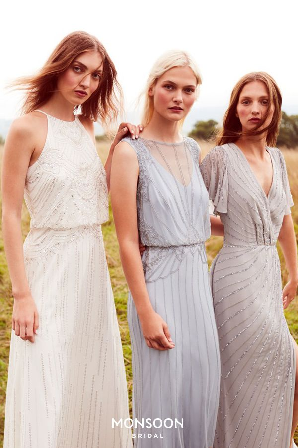 Discover new bridesmaid dresses from the SS18 bridal collection at Monsoon – now online and in store.