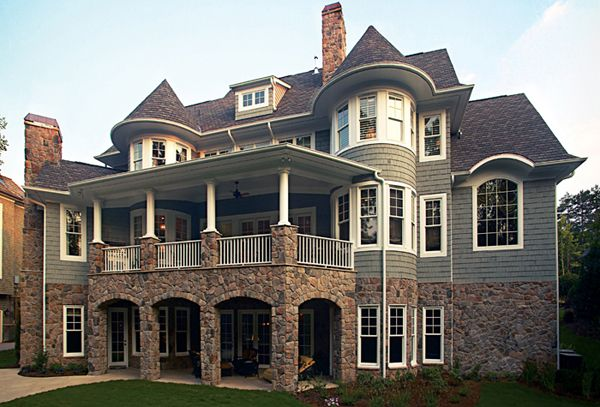 Awesome Two Story Walkout Basement House Plans