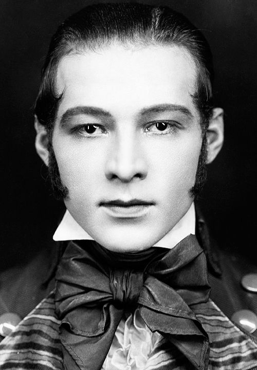Rudolph Valentino photographed for Beyond the Rocks (1922)