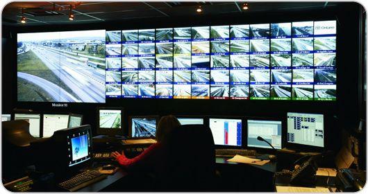 Burlington COMPASS Intelligent Traffic System | Christie - Visual Display Solutions