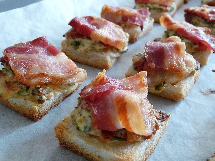 Bacon - Tomaten - Frischkäse Häppchen, ein raffiniertes Rezept aus der Kategorie Warm. Bewertungen: 254. Durchschnitt: Ø 4,6.