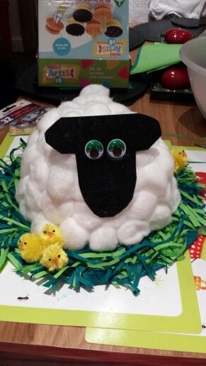 Easter bonnet made by me :)
