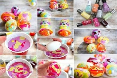 Cum să faci astfel de ouă pentru Paște! E mai simplu decât crezi