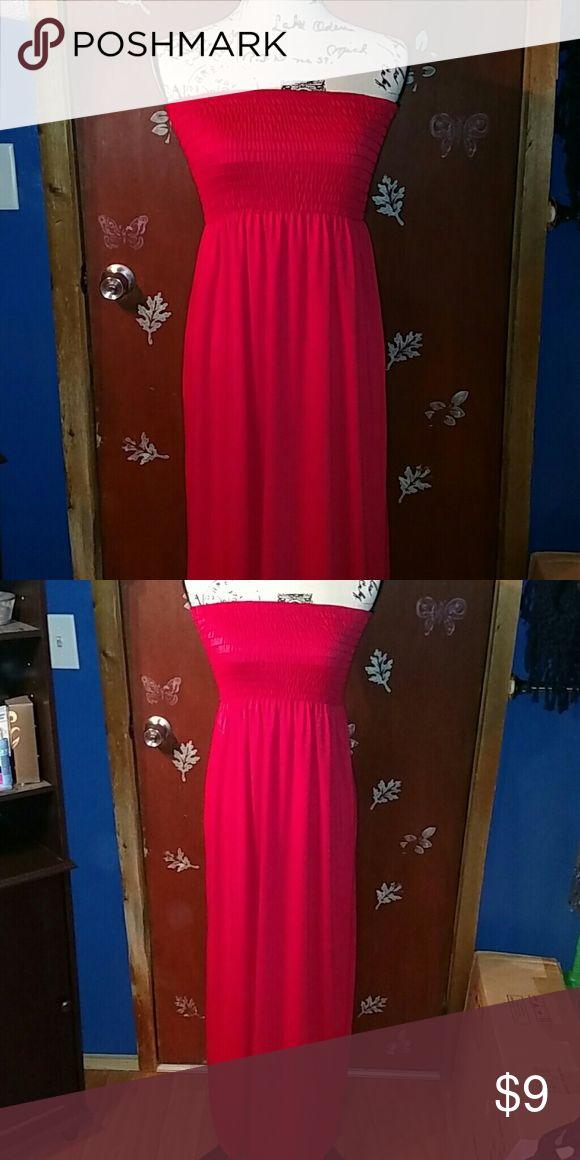 Lulu tube maxi dress