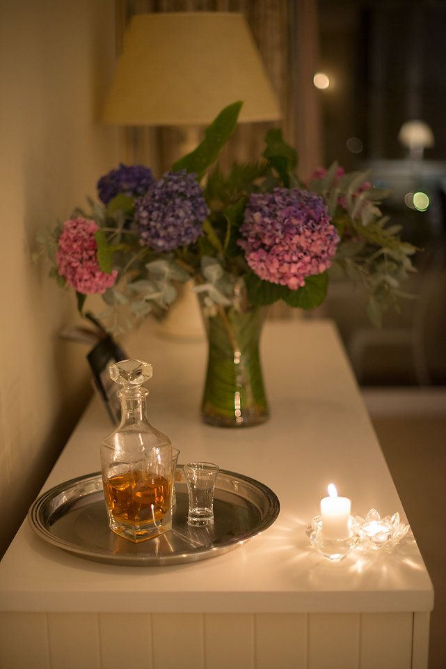Monis Full Cream Sherry, complimentary in every suite this winter.