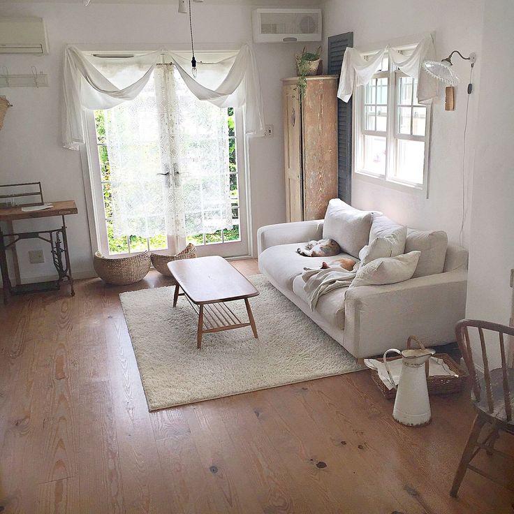 みんな大好き!無印良品のソファーでゆったりくつろぎ空間を作ろう ... 春インテリア