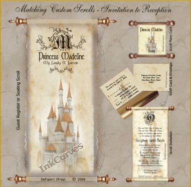 17 best ideas about scroll wedding invitations on pinterest, Wedding invitations