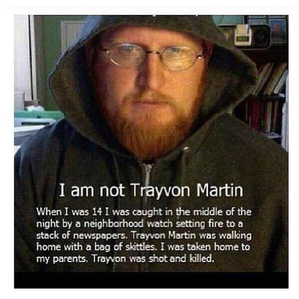 Trayvon Martin Funeral Program