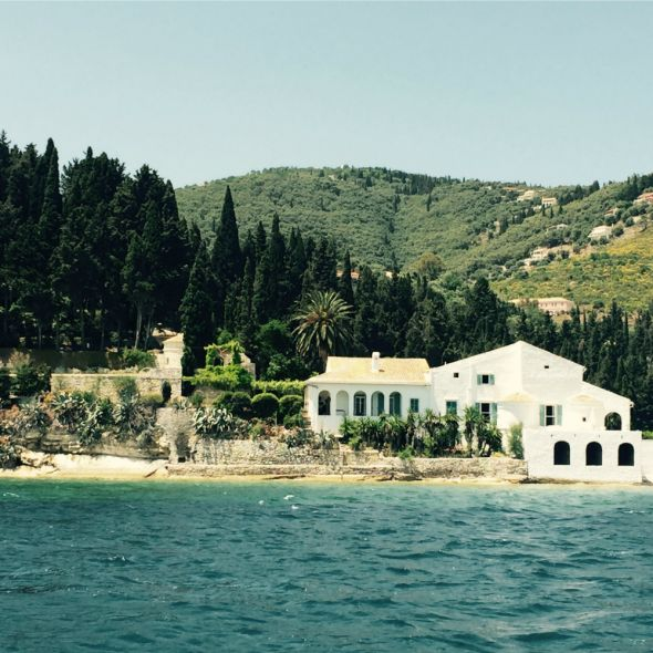 Kouloura, Corfu villa review | Corfu travel guide | Harper's Bazaar