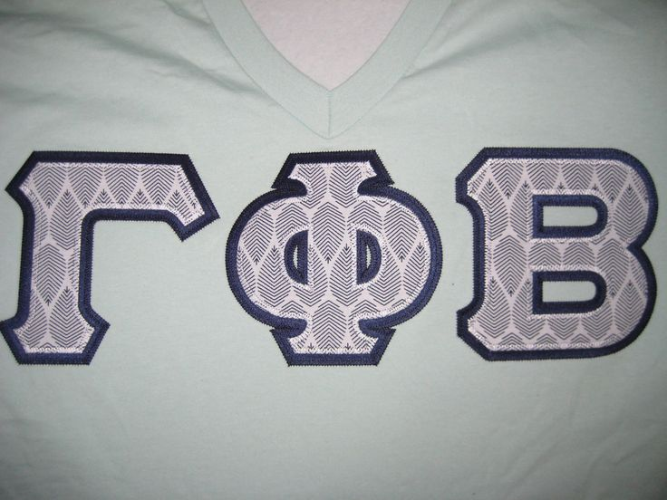 190 best greek apparel images on pinterest greek apparel for Sorority sewn on letters