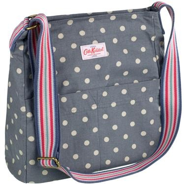 Spot Washed Messenger Bag from Cath Kidston, I bought it today! love the spots!