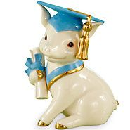 841527-Graduation Pig Figurine