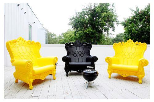 Cool lawn furniture :)