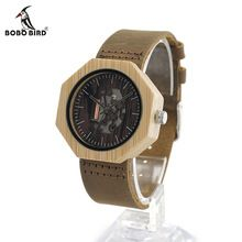 BOBO BIRD I09 New Fashion Wooden Women Dress Watches Skeleton Hollow Watch Japanese 2035 Movement For Ladies Watch In Gift Box(China (Mainland))