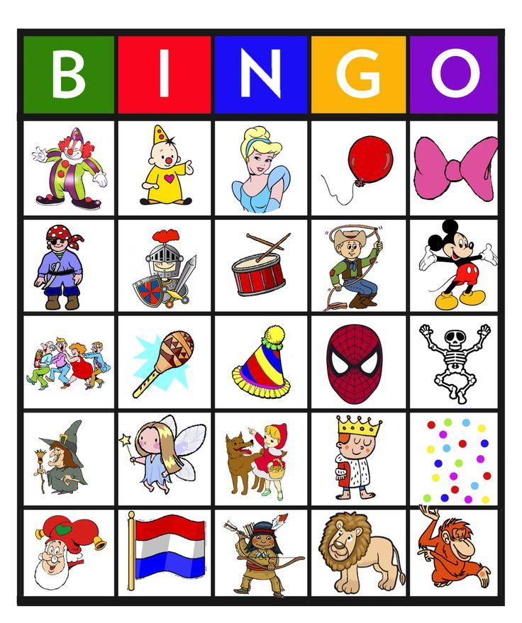 Feest: Bingo carnaval 24