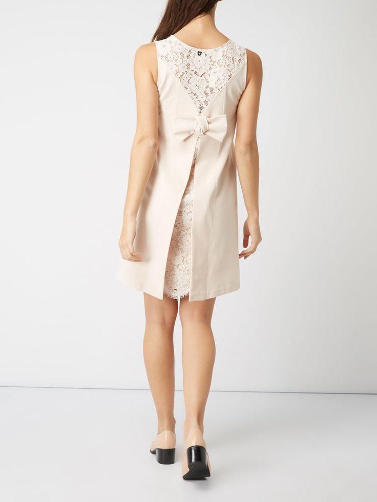 TWIN-SET Kleid mit Spitzeneinsatz auf der Rückseite in Rosé online kaufen (9754048) ▷ P&C Online Shop
