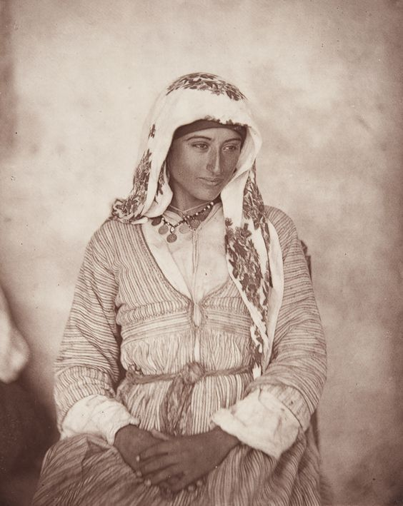 A Cyprian Maid,' from John Thomson's Through Cyprus with a Camera in the Autumn of 1878