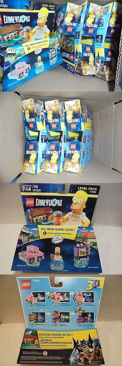 Minifigure Parts and Accessories 180023: Lego Dimensions The Simpsons Lot Of 6 Packages Building Toys 98 Pcs Ea. -> BUY IT NOW ONLY: $36 on eBay!