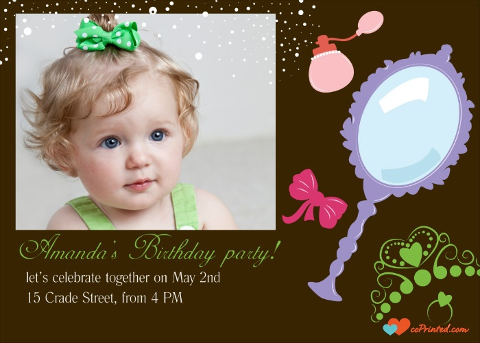 DIY party invitation. Printable Birthday Invitation. Customize online and download instantly. 3 USD/ month - unlimited downloads coprinted.com