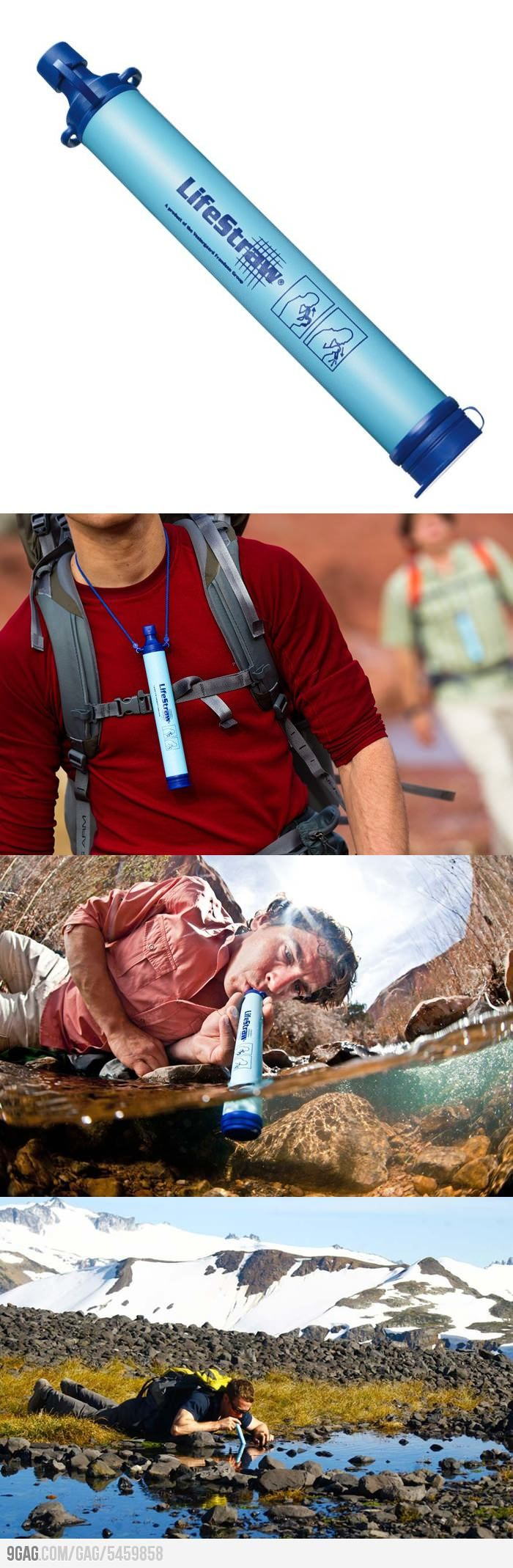 LifeStraw - Drink All The Dirty Water! Interesting item everyone one should have on at home and in car...