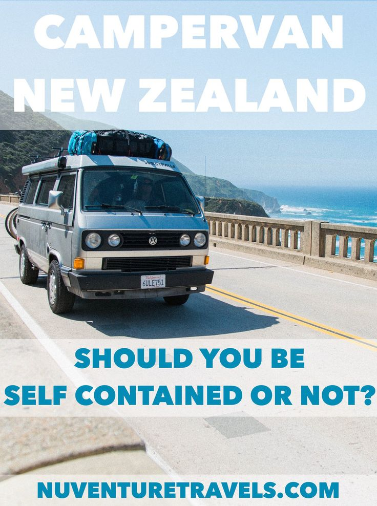 Buying A Campervan In New Zealand Should Your Camper Be Self Contained Or Non